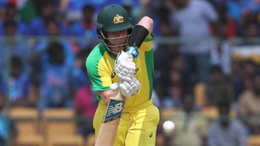 Steve Smith Scores his 9th ODI Century During India vs Australia Match in Bengaluru